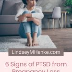 Anxious woman - 6 Signs of PTSD from Pregnancy Loss