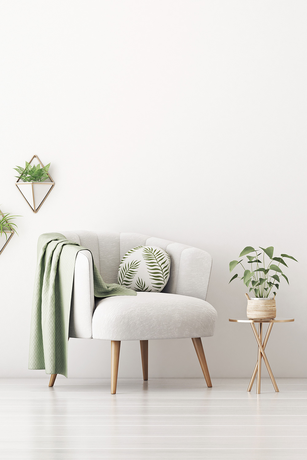 a comfy chair with plants - Should I See a Therapist After My Pregnancy Loss?